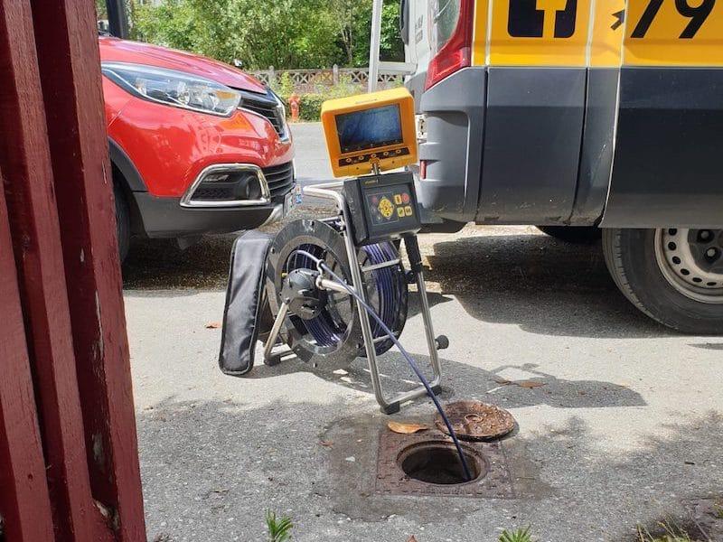 Inspection camera canalisations par MTP33