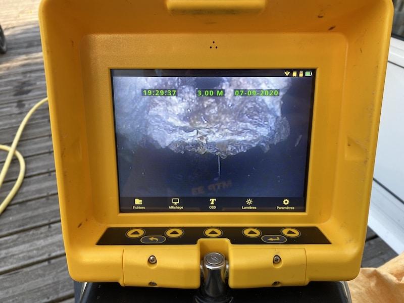 Passage Camera et Debouchage a Lanton par MTP33 2